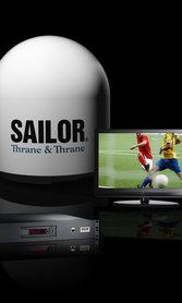 SAILOR 100 Satellite-TV