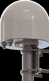 Extern Thuraya antenn - Aktiv, Rundstrålande - inkl mastfäste - TNC-f /  N-f