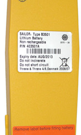 Sailor Battery Lithium B3501