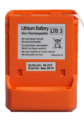 McMurdo Lithium Battery LTB3